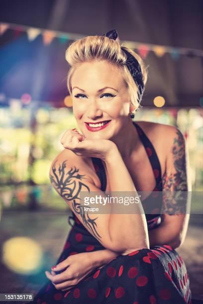 Femme rétro Rockabilly