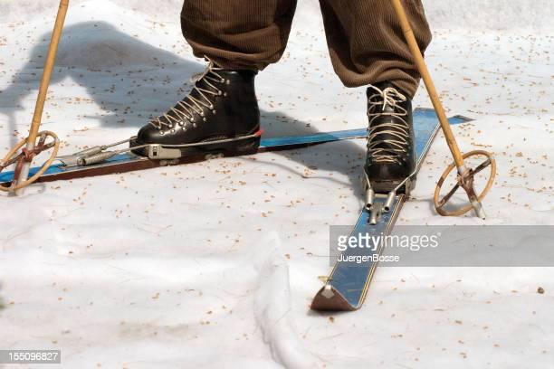 Équipement de ski rétro