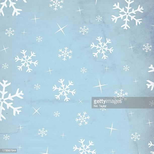 Retro Snowflake Paper XXXL