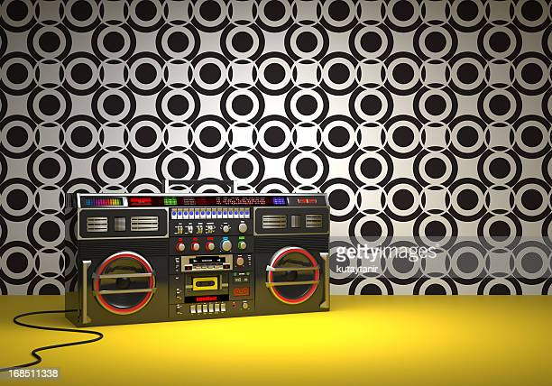 Estilo Retro Ghetto Blaster