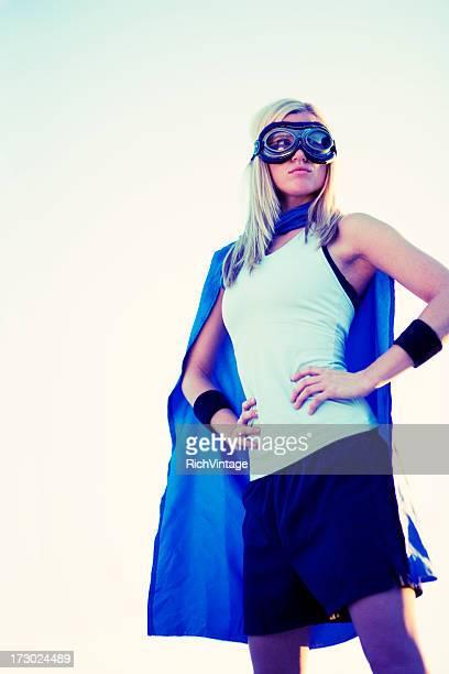 Retro Superhero