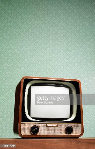 Retro television set