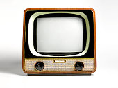 Retro television, with copy space