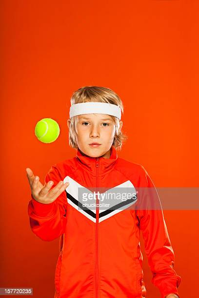 Retro Tennis Kid