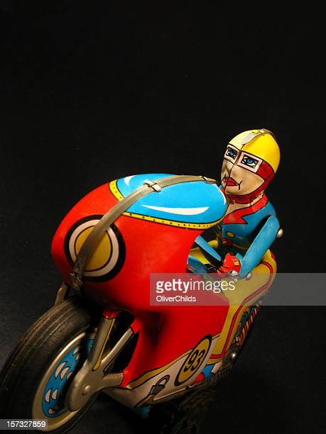 Rétro tin moto Jouet.