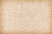 Retro toned natural linen texture or background.