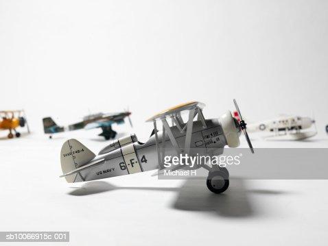Retro toy airplanes
