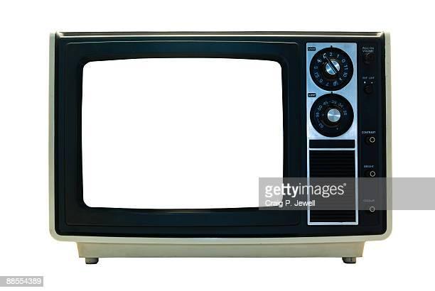 Retro TV Isolated