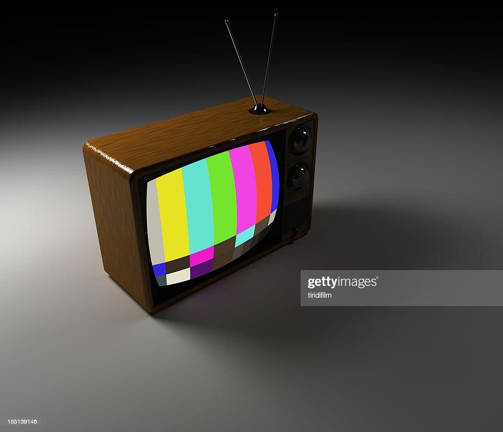Téléviseur rétro : Photo