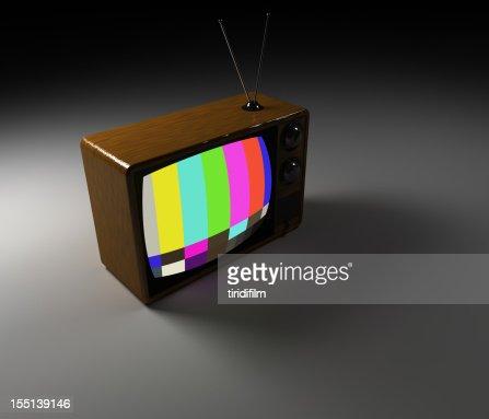 Retro Tv : Stock Photo