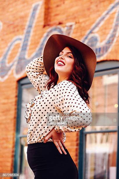 Retro Woman Fashionable Woman Stylish Woman