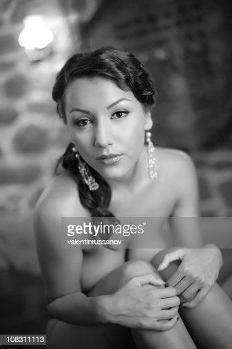 Retro woman : Stock Photo