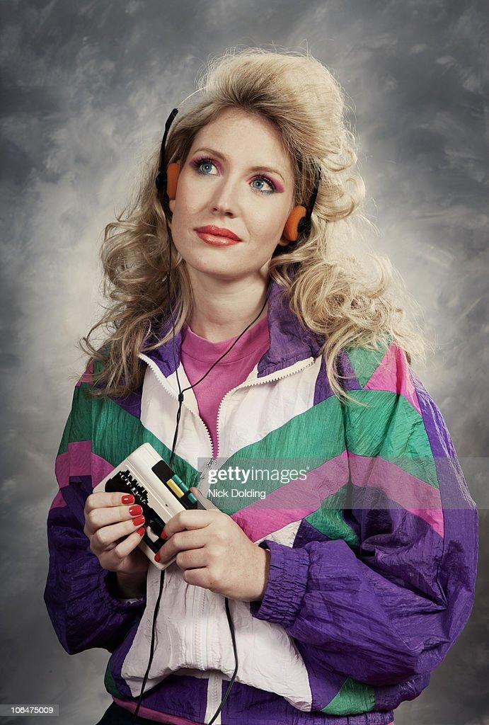 Retro11 Walkman : Stock Photo