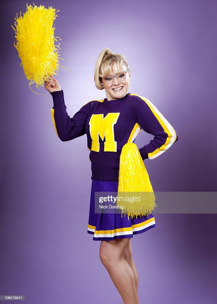 Retro30 cheer leader : Stock Photo