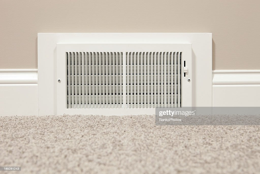 Hvac Return Air Wall Register Vent Stock Photo Getty Images
