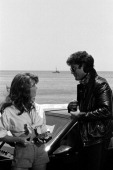 RIDER 'Return to Cadiz' Episode 6 Pictured Rebecca Holden as April Curtis David Hasselhoff as Michael Knight Photo by NBCU Photo Bank