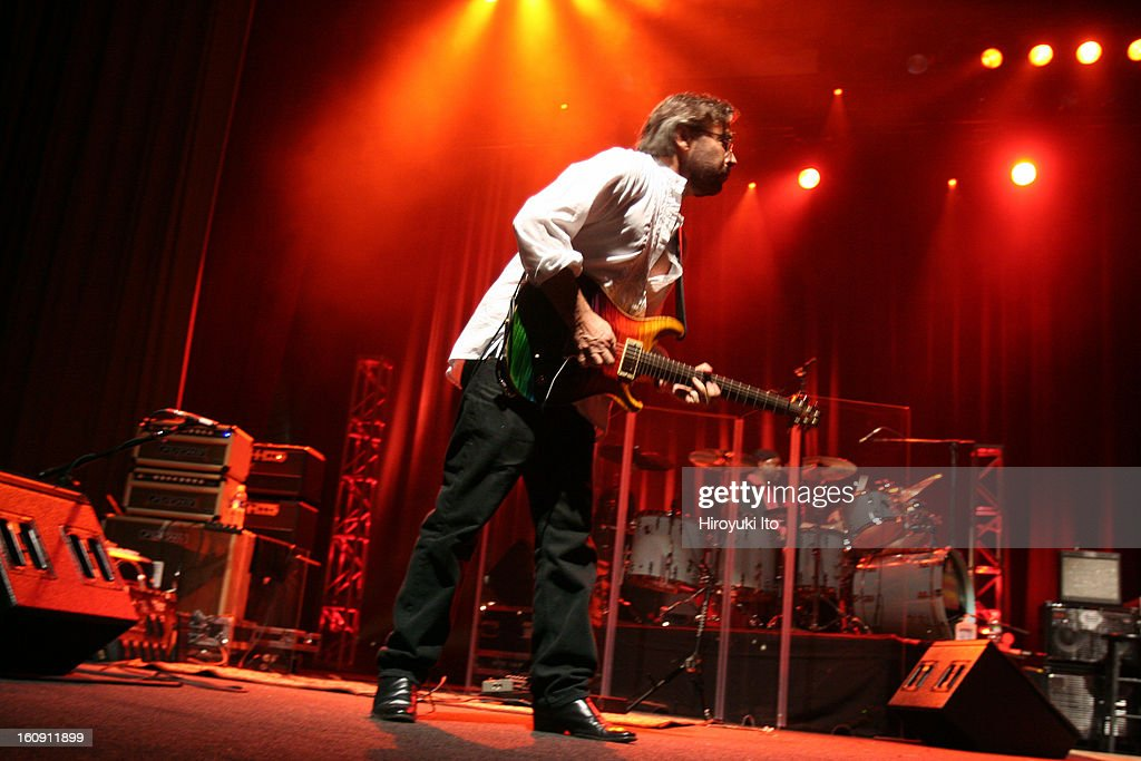 Return to Forever performing at the United Palace Theater on August 7 2008This imageAl Di Meola left and Lenny White
