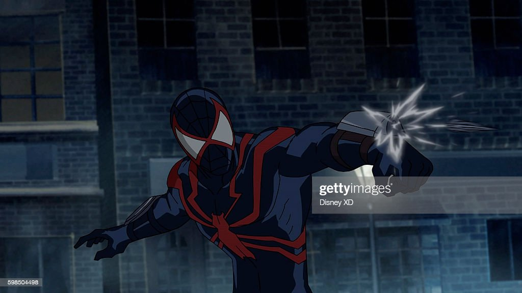 S ULTIMATE SPIDER-MAN VS. THE SINISTER 6 - 'Return to the Spider-Verse - Part 1' - Spider-Man and Kid Arachnid travel to alternate dimensions in order to gather the shards from the broken Siege Perilous. The episode of 'Marvel's Ultimate Spider-Man VS. The Sinister 6' airs Saturday, August 27 (8:00 - 8:30 P.M. EDT) on Disney XD. THE