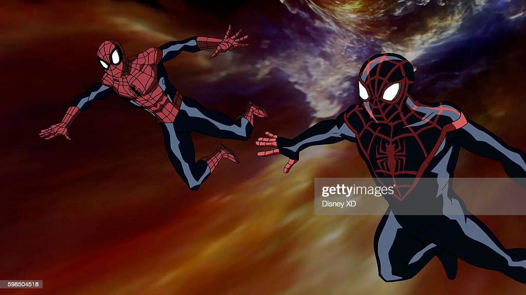 S ULTIMATE SPIDER-MAN VS. THE SINISTER 6 - 'Return to the Spider-Verse - Part 1' - Spider-Man and Kid Arachnid travel to alternate dimensions in order to gather the shards from the broken Siege Perilous. The episode of 'Marvel's Ultimate Spider-Man VS. The Sinister 6' airs Saturday, August 27 (8:00 - 8:30 P.M. EDT) on Disney XD. SPIDER
