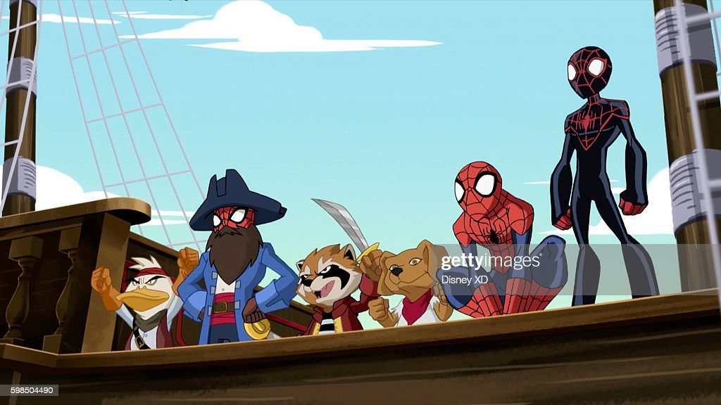 S ULTIMATE SPIDER-MAN VS. THE SINISTER 6 - 'Return to the Spider-Verse - Part 2' - Spider-Man and Miles, tracking the missing pieces of the Siege Perilous, travel to a tropical Pirate dimension, where they meet Web Beard, the Spider-Pirate. This episode of 'Marvel's Ultimate Spider-Man VS. The Sinister 6' airs Saturday, September 03 (8:00 - 8:30 P.M. EDT) on Disney XD. HOWARD