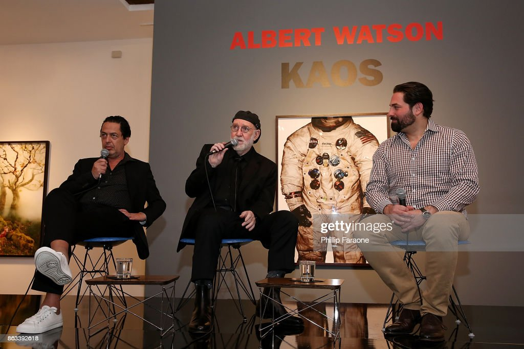 "Launch of Albert Watson's ""KAOS"" At TASCHEN Gallery"