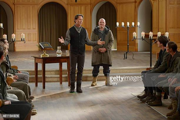 HELIX 'Reunion' Episode 202 Pictured Steven Weber as Brother Michael