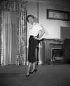 MRS NORTH 'Reunion' Episode 203 Pictured Barbara Britton as Pam North
