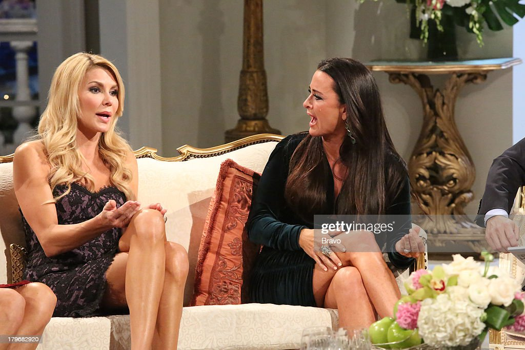 HILLS -- 'Reunion' Episode 320 & 321 -- Pictured: (l-r) <a gi-track='captionPersonalityLinkClicked' href=/galleries/search?phrase=Brandi+Glanville&family=editorial&specificpeople=841250 ng-click='$event.stopPropagation()'>Brandi Glanville</a>, <a gi-track='captionPersonalityLinkClicked' href=/galleries/search?phrase=Kyle+Richards&family=editorial&specificpeople=2586434 ng-click='$event.stopPropagation()'>Kyle Richards</a> --