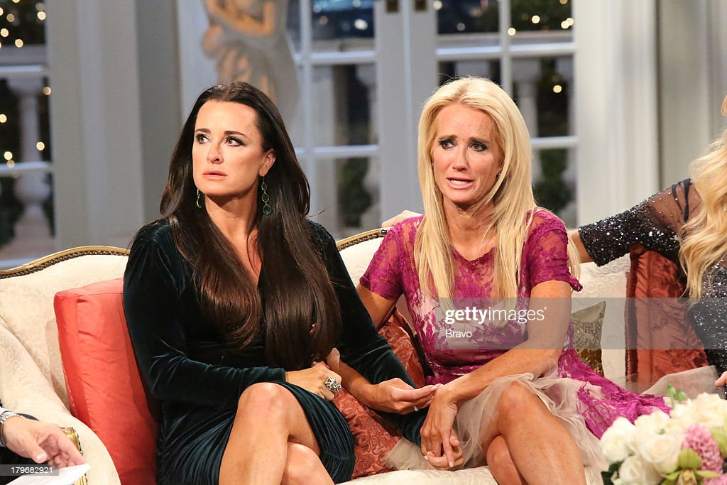 HILLS -- 'Reunion' Episode 320 & 321 -- Pictured: (l-r) <a gi-track='captionPersonalityLinkClicked' href=/galleries/search?phrase=Kyle+Richards&family=editorial&specificpeople=2586434 ng-click='$event.stopPropagation()'>Kyle Richards</a>, <a gi-track='captionPersonalityLinkClicked' href=/galleries/search?phrase=Kim+Richards&family=editorial&specificpeople=689572 ng-click='$event.stopPropagation()'>Kim Richards</a> --