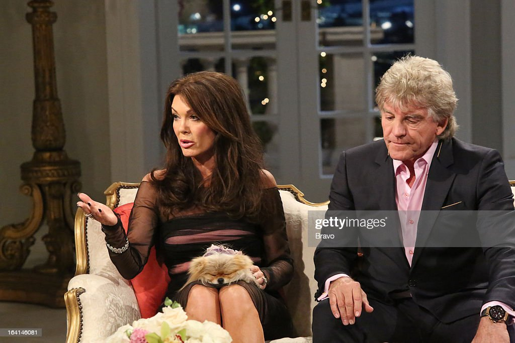 HILLS -- 'Reunion' Episode 320 & 321 -- Pictured: (l-r) Lisa Vanderpump, Ken Todd --