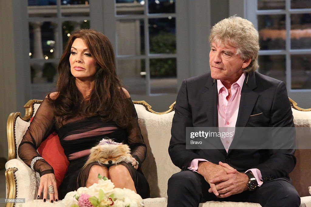 HILLS -- 'Reunion' Episode 320 & 321 -- Pictured: (l-r) <a gi-track='captionPersonalityLinkClicked' href=/galleries/search?phrase=Lisa+Vanderpump&family=editorial&specificpeople=6834933 ng-click='$event.stopPropagation()'>Lisa Vanderpump</a>, Ken Todd --