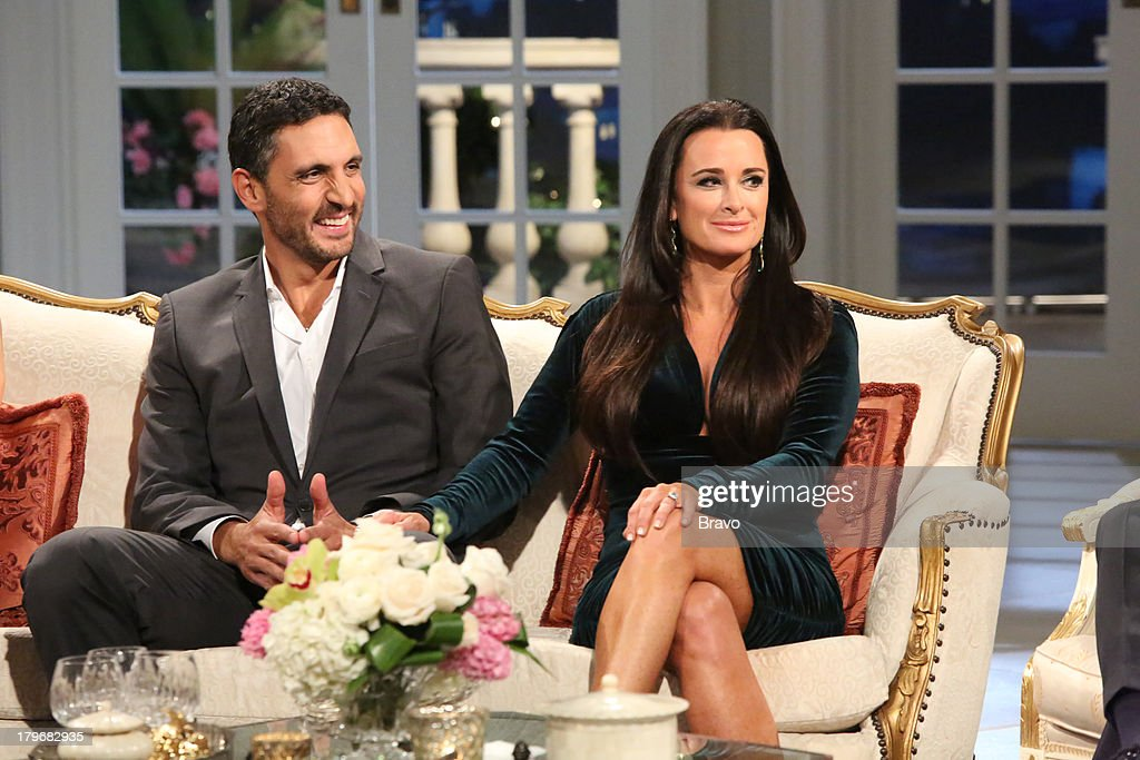 HILLS -- 'Reunion' Episode 320 & 321 -- Pictured: (l-r) Mauricio Umansky, <a gi-track='captionPersonalityLinkClicked' href=/galleries/search?phrase=Kyle+Richards&family=editorial&specificpeople=2586434 ng-click='$event.stopPropagation()'>Kyle Richards</a> --
