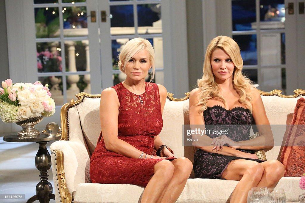 HILLS -- 'Reunion' Episode 320 & 321 -- Pictured: (l-r) Yolanda H. Foster, Brandi Glanville --