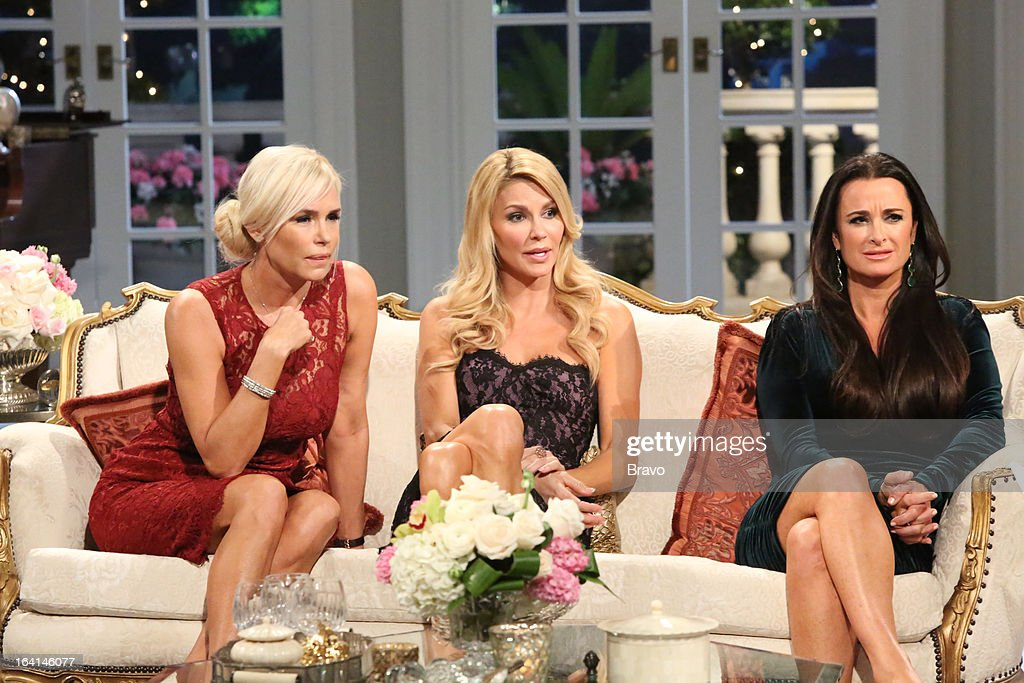 HILLS -- 'Reunion' Episode 320 & 321 -- Pictured: (l-r) Yolanda H. Foster, Brandi Glanville, Kyle Richards --