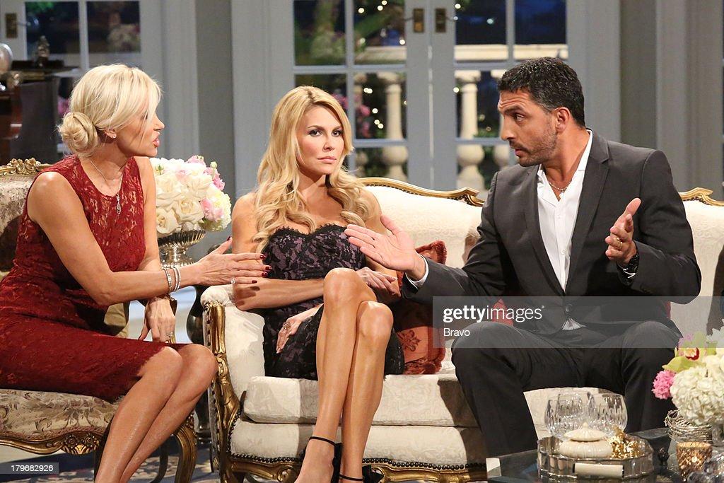 HILLS -- 'Reunion' Episode 320 & 321 -- Pictured: (l-r) Yolanda H. Foster, Brandi Glanville, Mauricio Umansky --