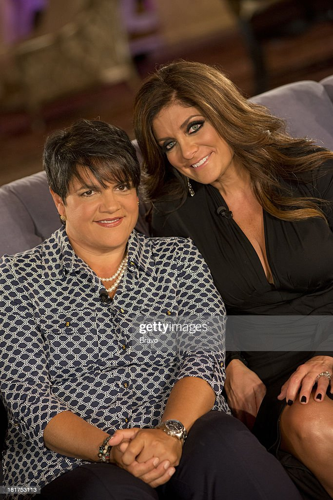 """JERSEY -- """"'Reunion' Episode 519 & 520 -- Pictured: (l-r) Rosie Pierri, <a gi-track='captionPersonalityLinkClicked' href=/galleries/search?phrase=Kathy+Wakile&family=editorial&specificpeople=7306776 ng-click='$event.stopPropagation()'>Kathy Wakile</a> --"""