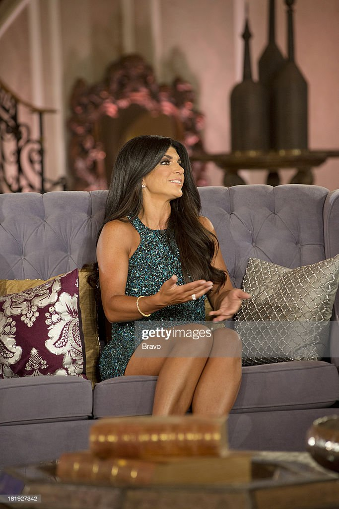 """JERSEY -- """"'Reunion' Episode 519 & 520 -- Pictured: <a gi-track='captionPersonalityLinkClicked' href=/galleries/search?phrase=Teresa+Giudice&family=editorial&specificpeople=5912953 ng-click='$event.stopPropagation()'>Teresa Giudice</a> --"""