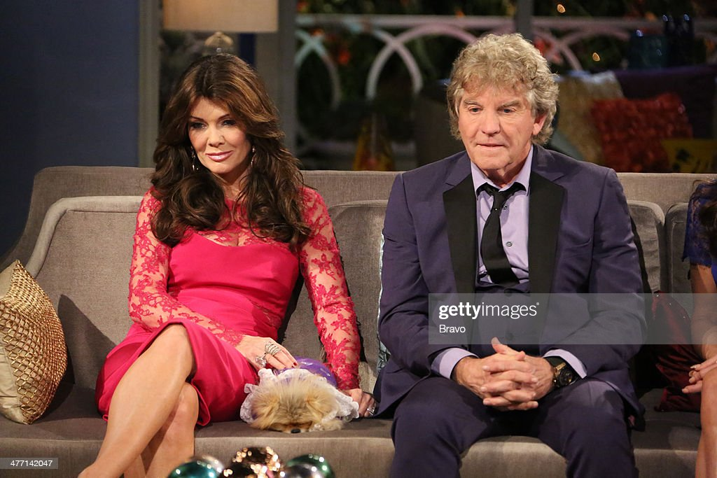 HILLS -- 'Reunion' Episodes 420, 421, 422 -- Pictured: (l-r) <a gi-track='captionPersonalityLinkClicked' href=/galleries/search?phrase=Lisa+Vanderpump&family=editorial&specificpeople=6834933 ng-click='$event.stopPropagation()'>Lisa Vanderpump</a>, Giggy the Pomeranian, husband Ken Todd, --