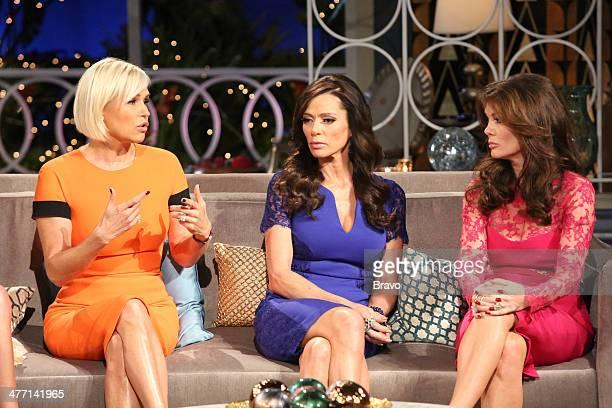 HILLS 'Reunion' Episodes 420 422 Pictured Yolanda H Foster Carlton Gebbia Lisa Vanderpump