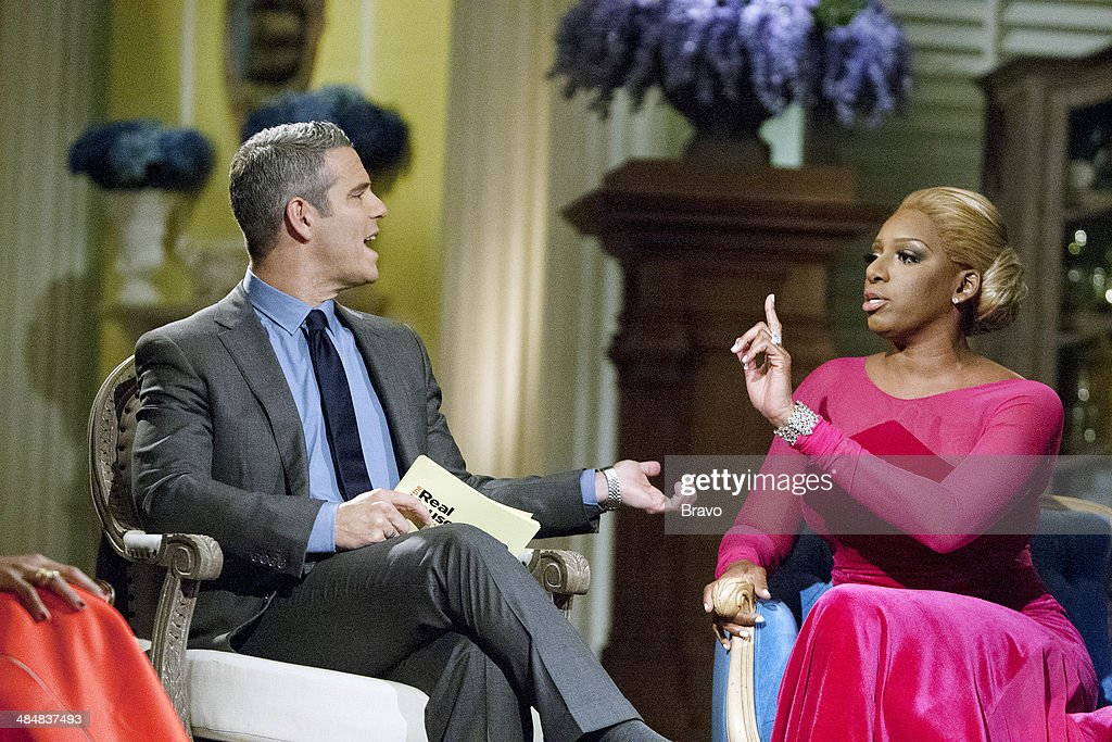 ATLANTA -- 'Reunion' -- Pictured: (l-r) Andy Cohen, Nene Leakes --
