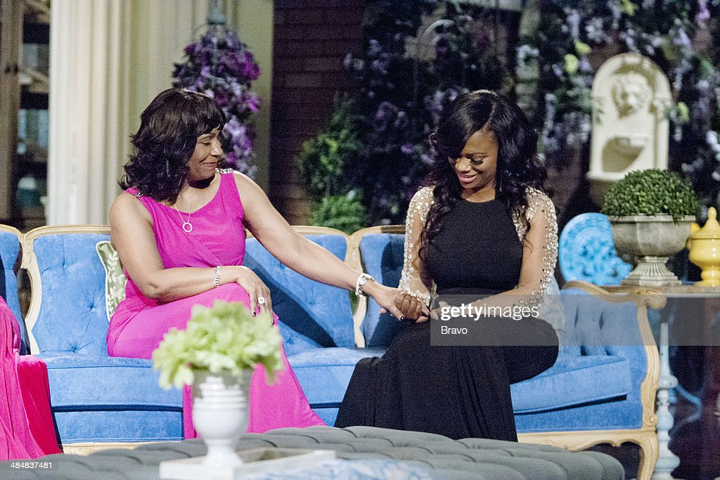Joyce Burruss, <a gi-track='captionPersonalityLinkClicked' href=/galleries/search?phrase=Kandi+Burruss&family=editorial&specificpeople=4401257 ng-click='$event.stopPropagation()'>Kandi Burruss</a> --
