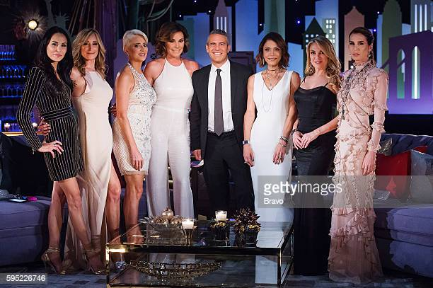 CITY 'Reunion' Pictured Julianne Wainstein Sonja Morgan Dorinda Medley Luann de Lesseps Andy Cohen Bethenny Frankel Ramona Singer Carole Radziwill