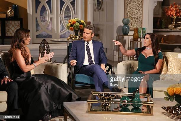 JERSEY 'Reunion' Pictured Teresa Giudice Andy Cohen Jacqueline Laurita