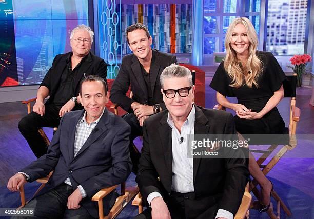 THE VIEW Reunion with the cast of Disney's 'Aladdin' including Alan Menken Scott Weinger Linda Larkin Gilbert Gottfried and Jonathan Freeman today...