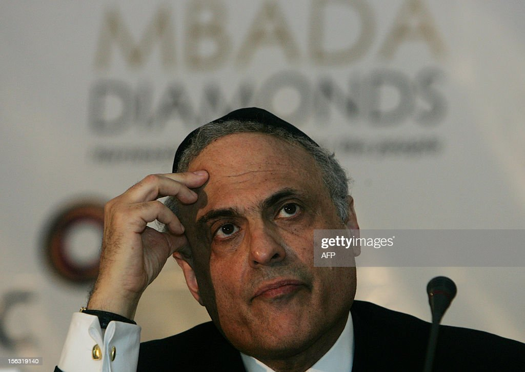 Reuven Kaufman President of the Diamond Dealers Club of New York takes part on the second day of the Zimbabwean Diamond Conference on November 13, 2012 in Victoria Falls. Zimbabwe hosts an international diamond conference aimed at polishing the image of the country and help attract investors to the sector which was tainted by serious violations including graft, torture and murder. Zimbabwe's diamond sector has been blemished by allegations of graft, labour and human rights violations that occured when Harare deployed security forces to drive away illegal miners from the eastern Marange diamond fields.