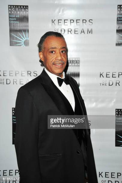 Rev Al Sharpton attends THE 12th ANNUAL KEEPERS OF THE DREAM AWARDS at Sheraton NY Hotel and Towers NYC on April 15 2010