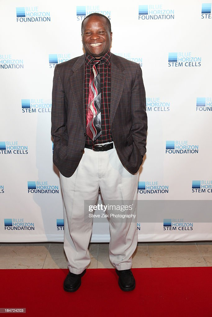Rev. Dr. Ben Tumuheirwe<<attends the 2nd Annual Blue Horizon Foundation gala>> at Guastavino's on October 15, 2013 in New York City.