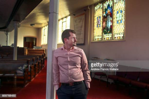 TORONTO ON OCTOBER 3 Rev Jeff Rock admitted to some nerves before his Thanksgiving sermon at the Metropolitan Community Church Rock who grew up in a...