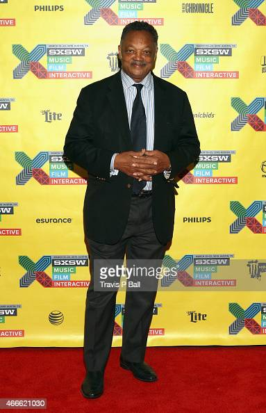 Rev Jesse Jackson attends Innovating Diversity and Inclusion in Tech during the 2015 SXSW Music Film Interactive Festival at JW Marriott on March 17...