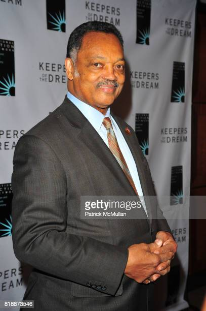 Rev Jesse Jackson attends THE 12th ANNUAL KEEPERS OF THE DREAM AWARDS at Sheraton NY Hotel and Towers NYC on April 15 2010